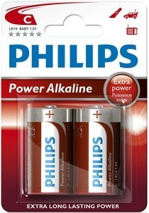 Philips PowerLife Baby C, 2-pack (LR14P2B/10)