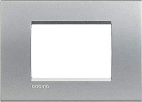 Bticino Livinglight Abdeckrahmen 1-fach, tech (LNA4803TE)