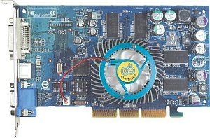 Chaintech A-FX60, GeForceFX 5600, 256MB DDR, DVI, TV-out, AGP