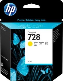 HP Tinte 728 gelb (F9J61A)