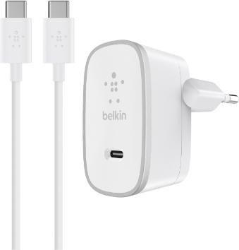 Belkin USB-C Netzladegerät weiß (F7U008vf05-WHT)