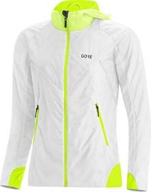 Gore Wear R5 Gore-Tex Infinium Insulated Laufjacke white/neon yellow (Damen) (100666-0108)