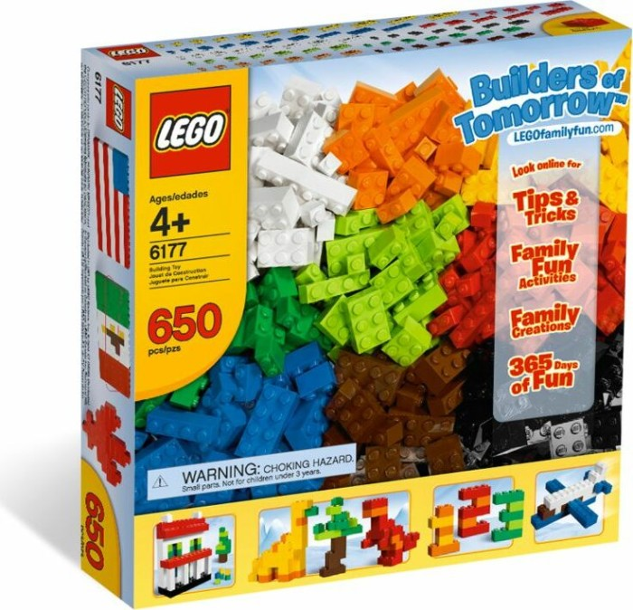LEGO - Bricks & More - Basic Bricks Deluxe (6177) -- via Amazon Partnerprogramm