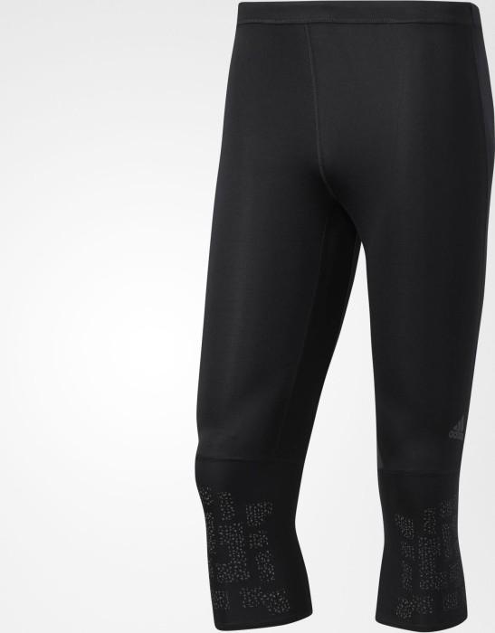016800048 adidas Supernova Tights running pants 3 4 black (men) (BQ7193 ...