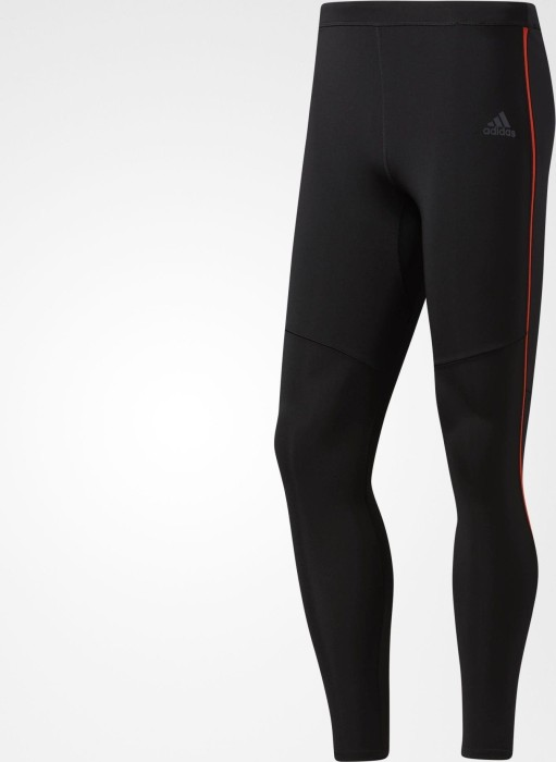 8389609db adidas Response Tights running pants long black red (men) (B47715 ...