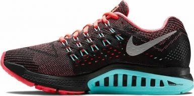 163c0e5a1f0b Nike Air zoom Structure 18 hot lava Light aqua black metallic silver ...