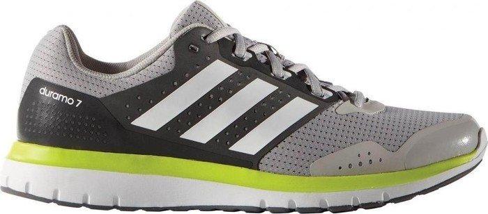 Adidas Duramo 7 claro Granite / ftwr blanco / cieno (Hombre semi - Solar