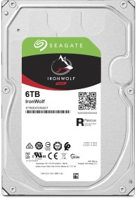 Seagate IronWolf NAS HDD 6TB, SATA 6Gb/s (ST6000VN001)