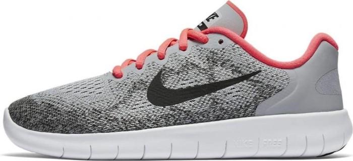 Nike »Flex 2017 Run (GS)« Laufschuh, grau, grau-neonpink