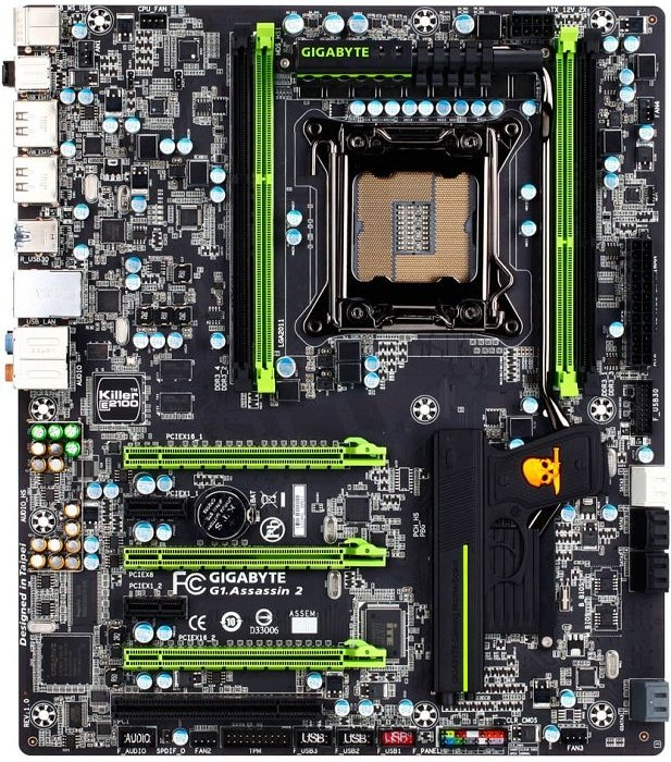Gigabyte G1.Assassin2, X79 (quad PC3-10667U DDR3)