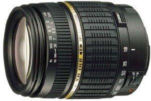 Tamron AF 18-200mm 3.5-6.3 XR Di II LD Asp IF Makro für Canon EF schwarz (A14E)
