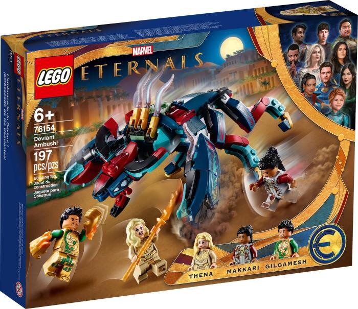 LEGO Marvel Super Heroes Spielset - Hinterhalt des Deviants! (76154)