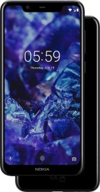 Nokia 5.1 Plus Dual-SIM schwarz