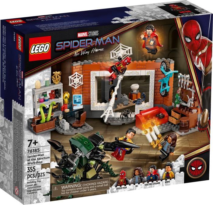 LEGO Marvel Super Heroes Spielset - Spider-Man in der Sanctum Werkstatt (76185)