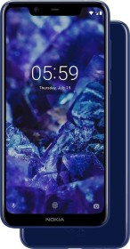 Nokia 5.1 Plus Dual-SIM blau
