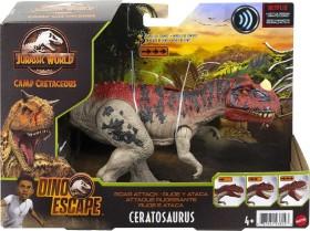 Mattel Jurassic World Brüll-Attacke Ceratosaurus (GWD07)