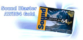 Creative Sound Blaster AWE-64 Gold Edition