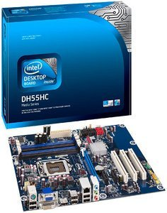Intel media Series DH55HC, H55 (dual PC3-10667U DDR3) (BOXDH55HC)