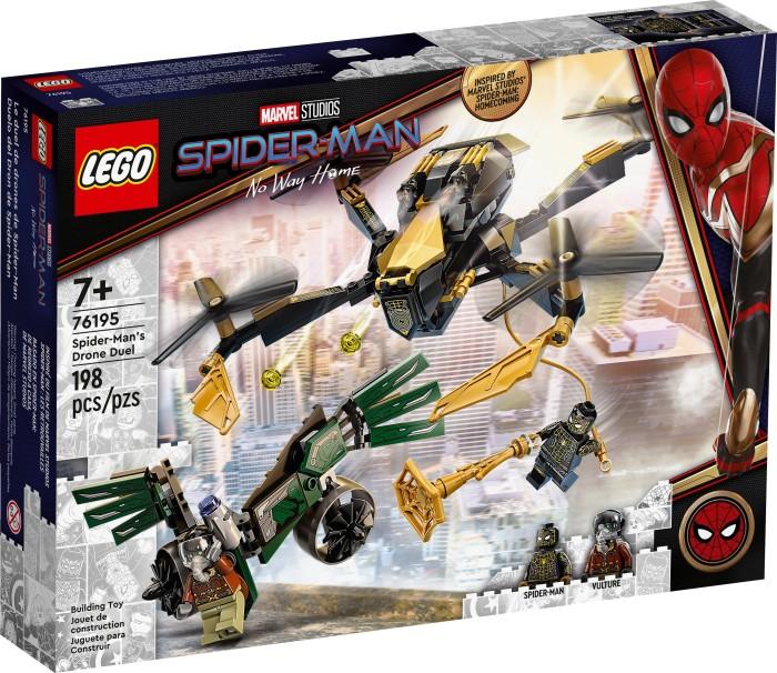 LEGO Marvel Super Heroes Spielset - Spider-Mans Drohnenduell (76195)