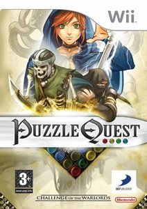 Puzzle Quest - Challenge of the Warlords (German) (Wii)