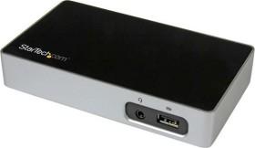 StarTech 4k DisplayPort Dockingstation, USB-B 3.0 [Buchse] (USB3VDOCK4DP)