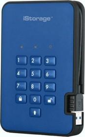 """iStorage diskAshur 2 SSD blau 4TB, 2.5"""", USB-A 3.0 (IS-DA2-256-SSD-4000-BE)"""