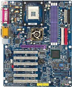 Gigabyte GA-8PE667 Pro, i845PE (PC-2700 DDR)