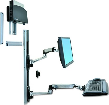 Ergotron LX wall Mount System for wall mounting (45-253-026) -- via Amazon Partnerprogramm