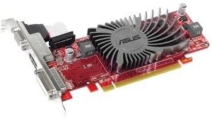 ASUS EAH5450 SILENT/DS/1GD3(LP), Radeon HD 5450, 1GB DDR3, VGA, DVI, DisplayPort (90-C1CQJA-L0UAN0YZ)