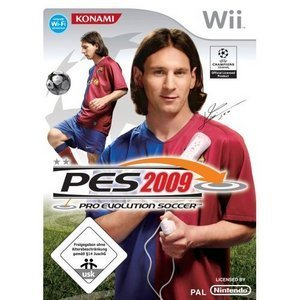 Pro Evolution Soccer 2009 (englisch) (Wii)