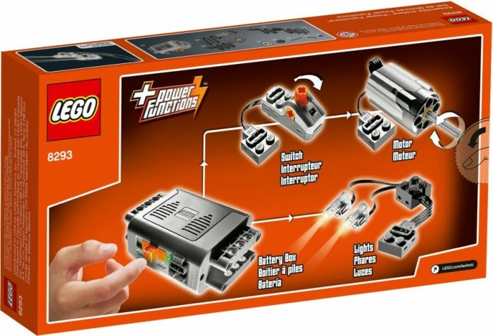 LEGO - Technic Power Functions - Accessory Box (8293) -- via Amazon Partnerprogramm