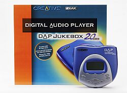 Creative D.A.P. jukebox, 20GB, MP3 player