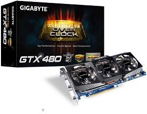 Gigabyte GeForce GTX 480 Super Overclock, 1.5GB GDDR5, 2x DVI, Mini HDMI (GV-N480SO-15I)