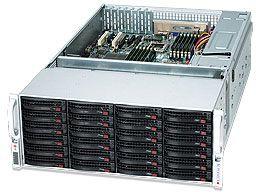 Supermicro SuperChassis 847A-R1400LPB schwarz, 4HE, 1400W redundant (CSE-847A-R1400LPB)