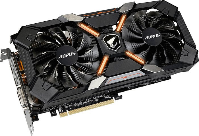 Gigabyte Aorus Radeon RX 580 XTR 8G, 8GB GDDR5, DVI, HDMI, 3x DisplayPort (GV-RX580XTRAORUS-8GD)