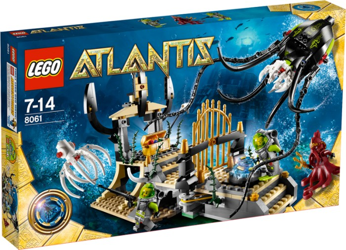 LEGO - Atlantis - Tintenfischtor (8061) -- via Amazon Partnerprogramm