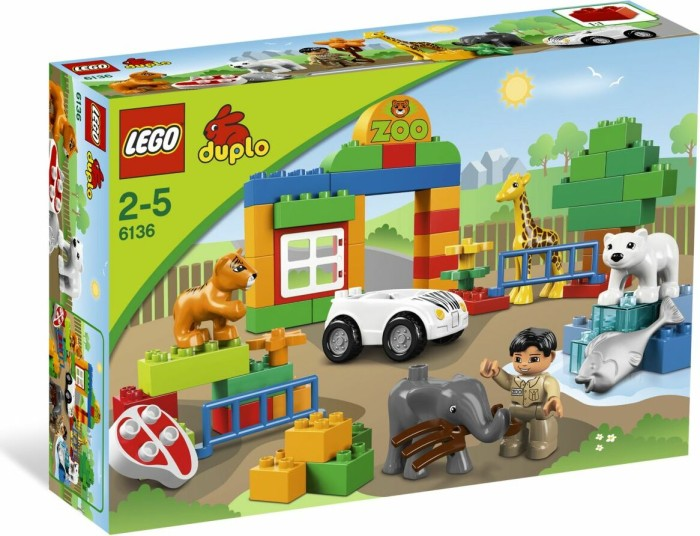 LEGO - DUPLO Build Stories - My First Zoo (6136) -- via Amazon Partnerprogramm