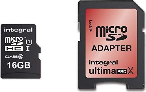 Integral ultima PRO X R90/W45 microSDHC 32GB Kit, UHS-I U3, Class 10 (INMSDH32G10-90/45U1) -- via Amazon Partnerprogramm