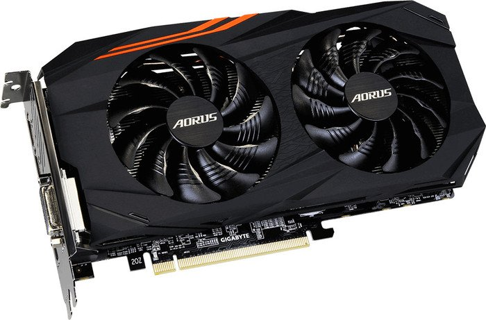 Gigabyte Aorus Radeon RX 580 8G, 8GB GDDR5, DVI, HDMI, 3x DP (GV-RX580AORUS-8GD)