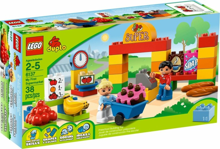 LEGO - DUPLO Bricks & More - My First Supermarket (6137) -- via Amazon Partnerprogramm