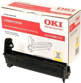 OKI Drum 43381721 yellow
