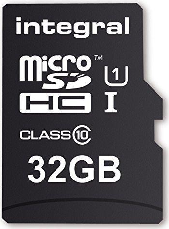 Integral ultima PRO R40 microSDHC 32GB Kit, UHS-I U1, Class 10 (INMSDH32G10-40U1) -- via Amazon Partnerprogramm