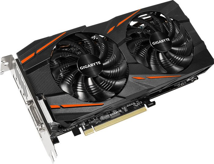 Gigabyte Radeon RX 580 Gaming 8G, 8GB GDDR5, DVI, HDMI, 3x DisplayPort (GV-RX580GAMING-8GD)