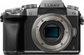 Panasonic Lumix DMC-G70 silber Gehäuse