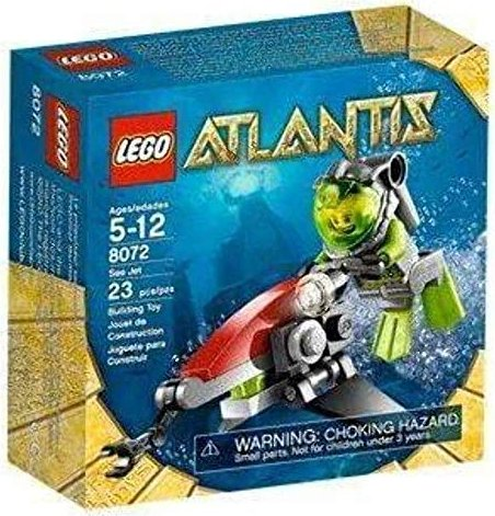 LEGO Atlantis - Sea Jet (8072) -- via Amazon Partnerprogramm