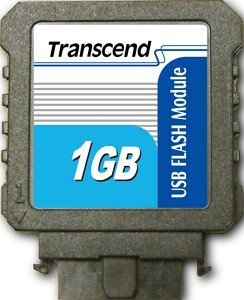 Transcend USB vertikal 1GB, USB 2.0 Pin Header 10-Pin (TS1GUFM-V)