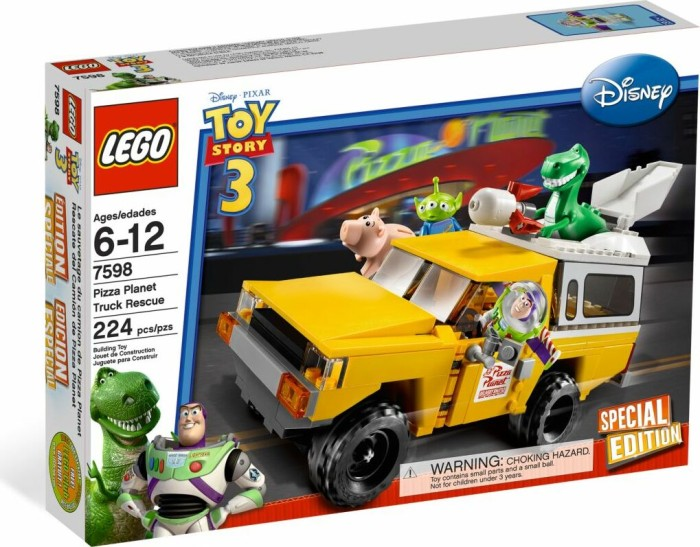 LEGO Toy Story - Pizza Planet Lastwagen (7598) -- via Amazon Partnerprogramm
