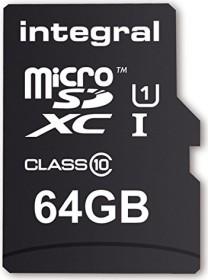 Integral UltimaPro R40 microSDXC 64GB Kit, UHS-I U1, Class 10 (INMSDX64G10-40U1)