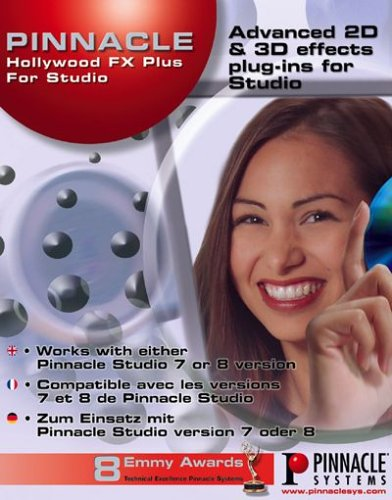 Pinnacle Hollywood FX Plus (Plugin für Studio) (PC) -- via Amazon Partnerprogramm