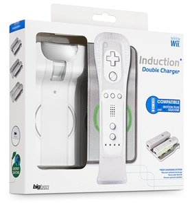 BigBen Induction Double Charger, white (Wii) (BB273571)